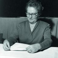 Bild 177: Lisa Albrecht [Archiv der Sozialen Demokratie]