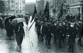Lexikon Bild 040: Demonstration des Reichsbanners in München 1927 [Archiv der Münchner Arbeiterbewegung]