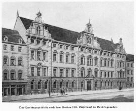 Lexikon Bild 025: Der bayerische Landtag in der Prannerstraße [Bildarchiv Bayerischer Landtag]